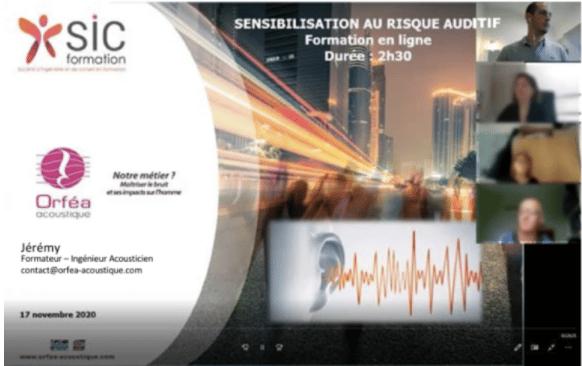 Formation aux risques auditifs pour les inspecteurs de la DREAL Pays de la Loire